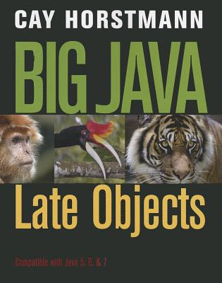 Big Java Late Objects By Horstmann, Cay S.